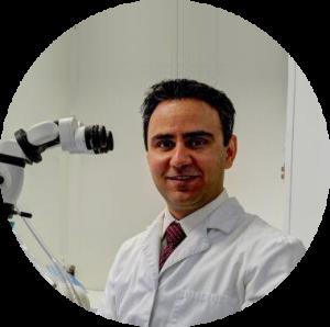 Dr. Kevin K. Sameti in Opt Room