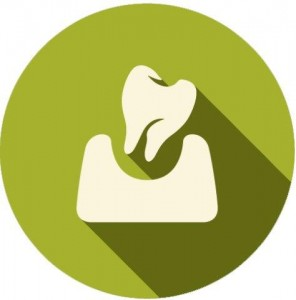 Untreated tooth icon